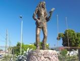 Bob Marley statue Jamaica