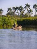 tropical clip art, tropical rivers,riverboats
