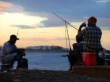 beach boys, beach bum, fishing in Jamaica
