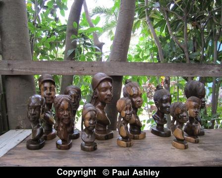 wooden heads