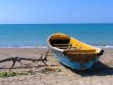 beach canoe, beaches Jamaica
